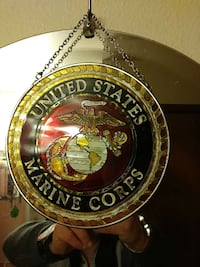 Marine Corp stain glass Vancouver, 98664