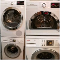 "Bosch 24"" washer and ventless dryer  Pickering, L1V 6P5"