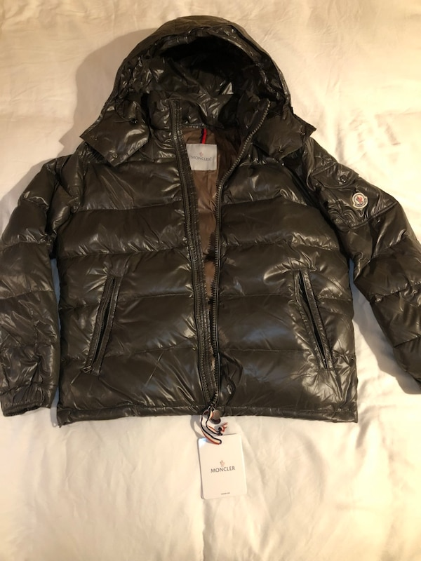 bd12265f5722 Used Moncler Green Jacket Size Large for sale in New York - letgo