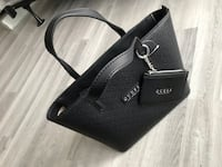 Guess black pu leather bag new with tag  Gaithersburg, 20879