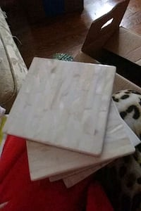 8 ivory cream coasters Knoxville