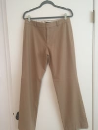 Women's camel colored wool pant, size 8, fully lined, Banana Republic Albuquerque, 87111