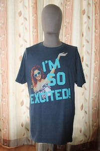 Saved by the Bell Jesse I'm so Excited T-shirt Size Large 583 km