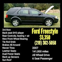 black Ford Freestyle SUV Michigan City, 46360