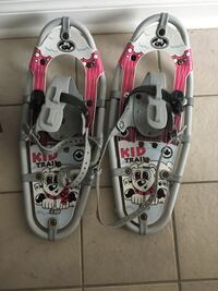 children's pair of gray and pink snow shoes Halifax, B3N 2Y8