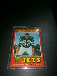 1971 AL ATKINSON FOOTBALL CARD DREXEL HILL Upper Darby, 19026