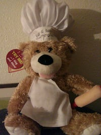 brown and white bear plush toy Coos Bay, 97420