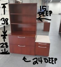 2-DRAWER LATERAL FILE CABINET (($200 w/ Bookcase / $160 without)) Bel Air, 21014