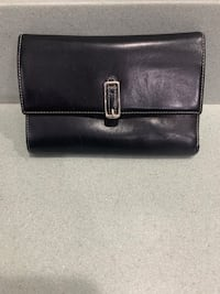 Coach - Black & Red Leather Wallet MONTGOMRY VLG, 20879