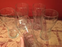 Set of five beer glasses strongbow  Mississauga, L5N 8H6