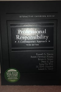 Professional responsibility a contemporary approach- third edition New York, 11230