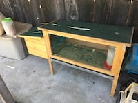 Rabbit/chicken hutch-cage Escalon, 95320