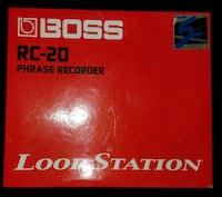 Boss RC-20 phrase recorder loop station Hagerstown, 21742