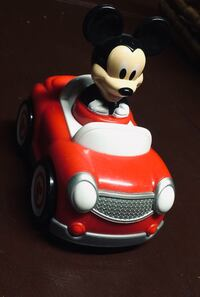 Disney Mickey Mouse in toy car