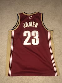 Throwback Lebron Nike Cleveland Jersey  Germantown, 20874
