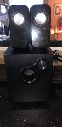Black and gray subwoofer speaker Mississauga, L5V 2R3