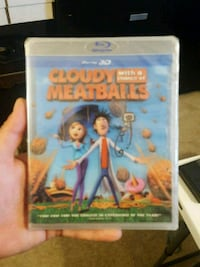 Cloudy with a chance of meatball promo blue ray 3d Jessup, 20794