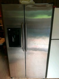 stainless steel side-by-side refrigerator with dispenser Silver Spring, 20904