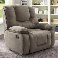 Still in Box, Better Homes and Gardens Cuddler Recliner with In-Arm Storage and USB. Grey Hilliard