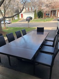 Ashley furniture table with 9 chairs Culpeper, 22701
