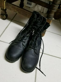 Black army jungle boots Vancouver, V5N 1R9
