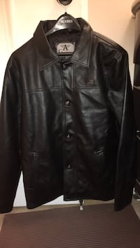 Brand new G A Milano black pleather jacket  Toronto, M2R 3N5