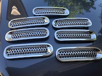 Jeep - Wrangler - Chrome ABS Inserts Pittsburgh