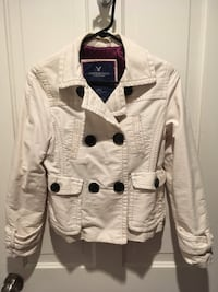 Women's ivory coat size small 398 mi