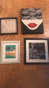 Wall decor - take all four for $25 or negotiable Rockville, 20852