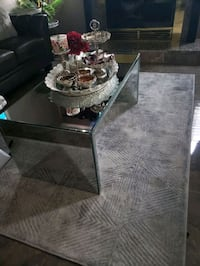 Beautiful mirror coffee table