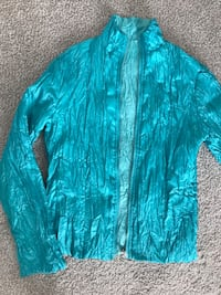 Zip-up jacket double sided