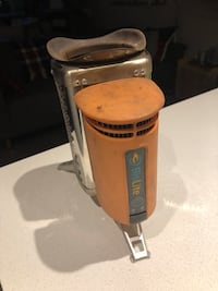 BioLite campstove (1st generation) wood fueled with grill attachment for portable backcountry bbq!  Vancouver, V5Y 3T2