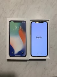 iPhone X 64 Gig Silver Rockville, 20850