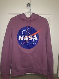 Purple NASA hoodie size: large sorry for bad quality camera Edmonton, T6X 0Z4