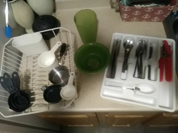 assorted kitchen utensil