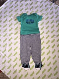 "Newborn sized ""Little Brother"" outfit San Antonio, 78261"