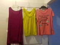 two red and yellow tank tops Jacksonville