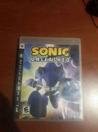 Sonic Unleashed PS3 game case Fairfield, 94533