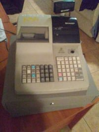 Cash Register with cash boxs
