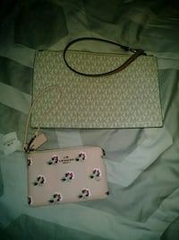white and pink floral leather crossbody bag Waynesboro, 17268