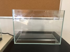 LANDEN 5.5-Gallon Rimless Glass Aquarium Tank