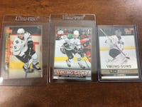 UD Dallas Stars NHL Young Guns Rookie Cards 3x EDMONTON