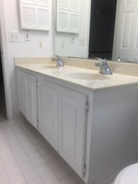 white wooden kitchen cupboard and white wooden cabinet Herndon
