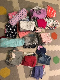12 month - 2T girl clothes lot Potomac, 20854