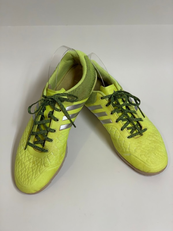 newest collection bb7db 929a1 Adidas B27127 Mens Ace 15.2 CG Soccer Shoes Solar Yellow/Silver Metallic  Gray Size 11.5