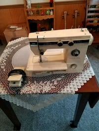 white and black sewing machine Decatur, 46733