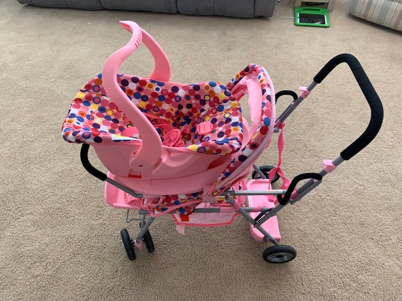 Sold Reborn Baby Doll With Stroller Car Seat And Clothes Asking