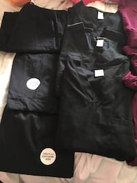 Three black medical scrubs and pants Louisville, 40222