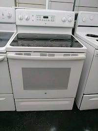 white and black induction range oven Plant City, 33563