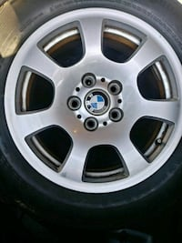 BMW tires and rims all 4